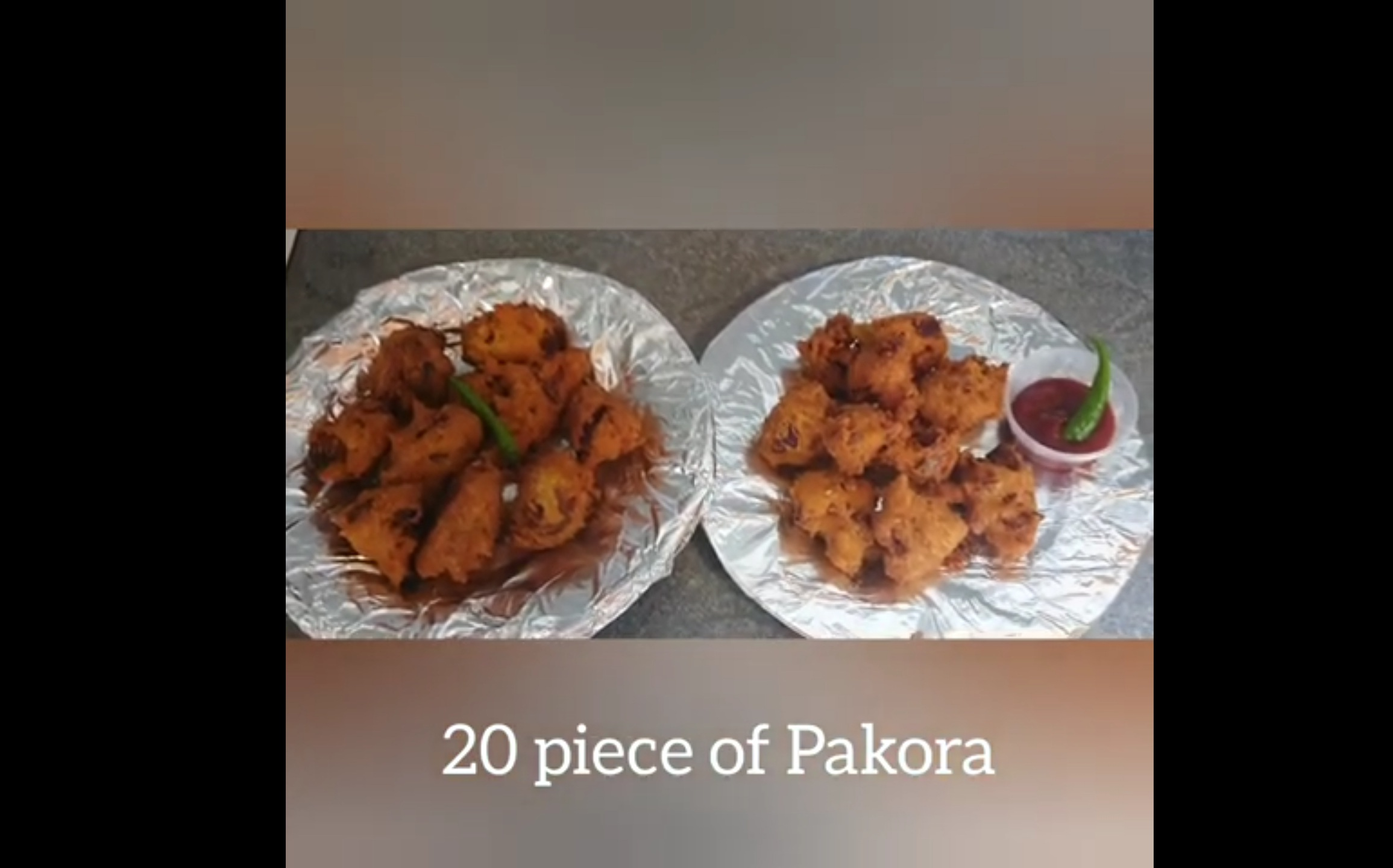 "Cook a Meal for only £2 a day- ""Pakora"" from Md's Kitchen Bargain Challenge- Md's Little Help Kitchen"