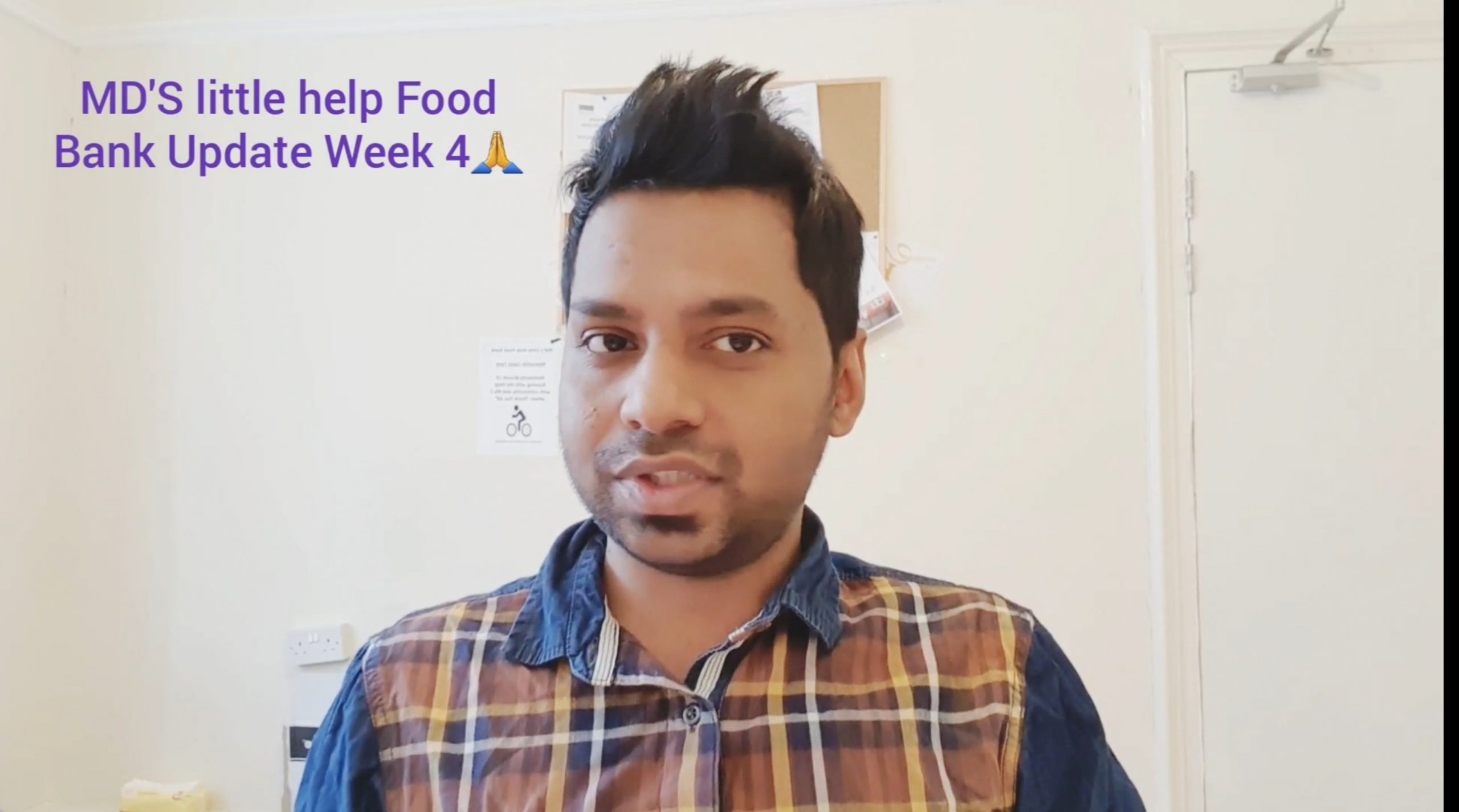 This week I have delivered 40 food pack! Total 194👍🥰🚵💪- Md's Little Help Food Bank Update Week 4