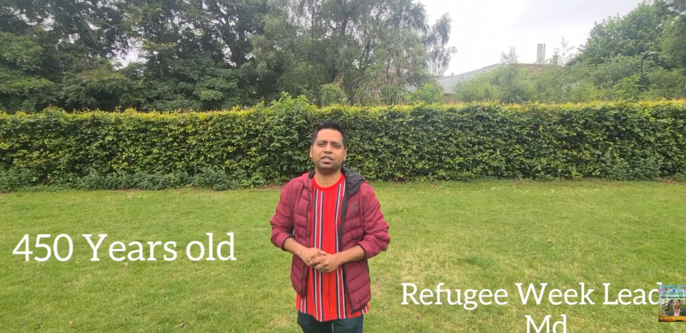 """Read more about the article Day 3 """"#Contribution"""" #RefugeeWeekUK2020  by Md"""