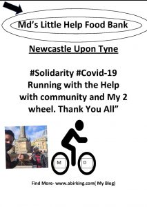 Special Mother's Day UK  – Md's Little Help Food Bank 😊🚴 Social experiment #MdsJourney