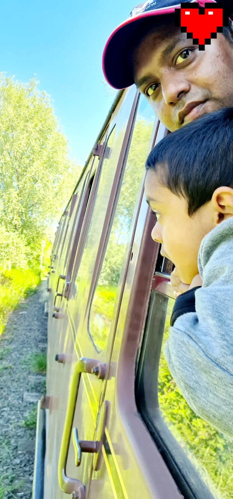 Journey to A steam Rail With My Little Handsome – Md & Usamn's Journey