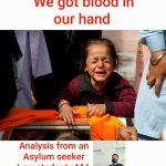 """We got blood on our hand                               """"Afghanistan""""                               (Analysis from an Asylum seeker Law Student)"""