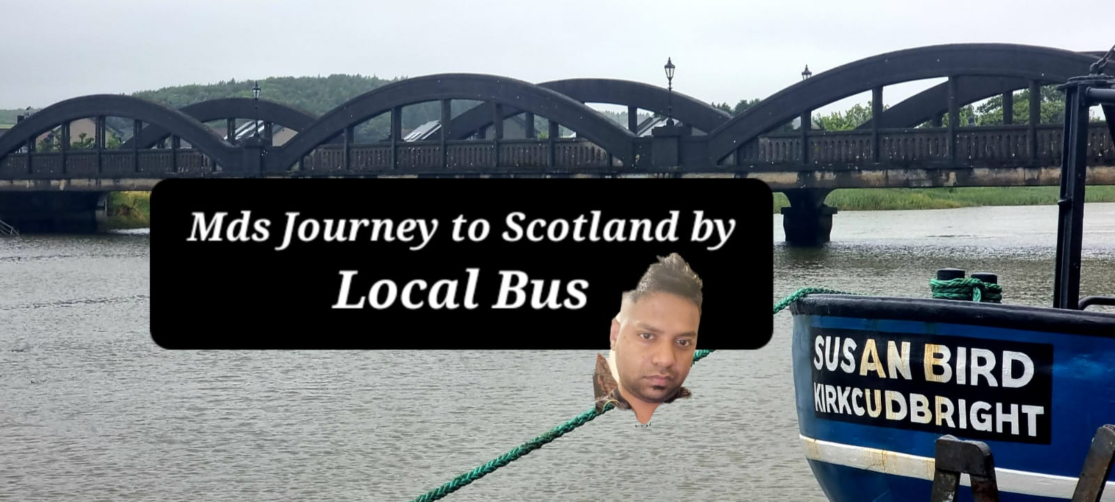 Read more about the article Newcastle to Scotland by Local Bus? Polar Bites( Kirkcudbright)- Mds Biggest Journey😊❤️🚴🏼♂️👇🏻